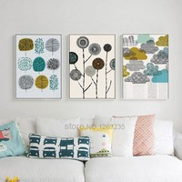 Picture Scandinavian Style Nordic Poster Wall Art Canvas Painting Posters And Prints Wall Pictures For Living Room Unframed