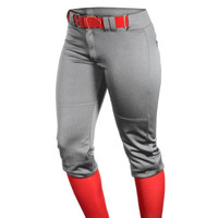 Louisville Slugger Womens Athletic Solid Baseball Pants