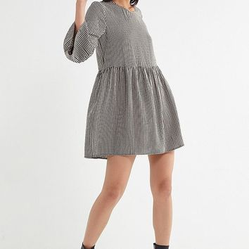 UO Gingham Babydoll Dress | Urban Outfitters