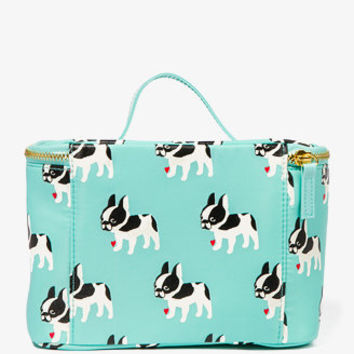 French Bulldog Cosmetic Bag   FOREVER 21 - 1048889803