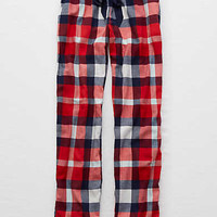 Aerie Real Soft® Flannel Sleep Pant , Blue