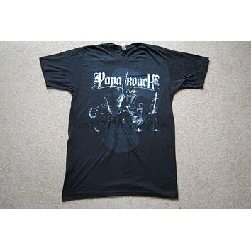 PAPA ROACH METAMORPHOSIS BAND T SHIRT NEW INFEST LAST RESORT CONNECTION|T-Shirts