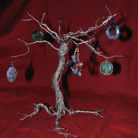 Wire Wrapped Tree of Life Jewelry Holder