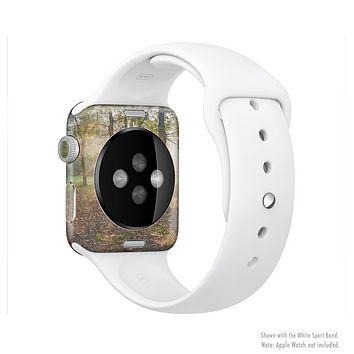 The Vivia Colored Sunny Forrest Full-Body Skin Set for the Apple Watch