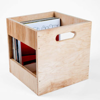 Standard Maple LP Record Crate