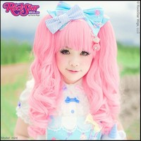 Short Mixed Babydoll Lolita - Powder Pink