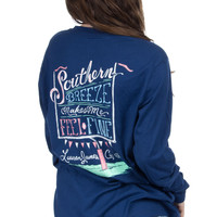 Lauren James Long Sleeve Tee- Southern Breeze- FINAL SALE