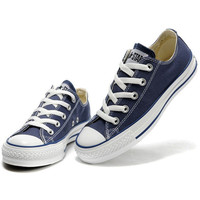 """Converse"" Fashion Canvas Flats Sneakers Sport Shoes Low tops Navy blue"