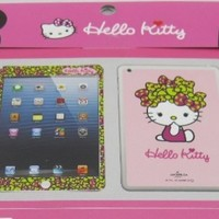 New Arrival Fashional Ultra-thin Protection Film / Screen Guard Decal Skin Sticker for Ipad Mini Hello Kitty Sticker Light Pink