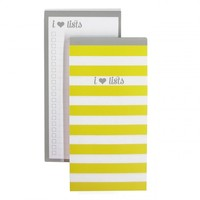 Dabney Lee for Blue Sky List Note Pad 4x8 - Yellow