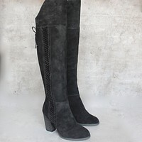 Sbicca - Gusto Over the Knee Suede Leather Boots in Black