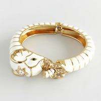 Jaipur Elephant Bangle