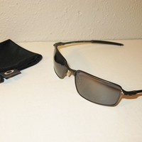 Oakley Square Wire Pewter/Warm Grey sunglasses