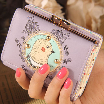 5 Styles Hot Sale Wallets Medium Pouch Famous Brand Pu Leather Women Wallets Fashion Bag Purse High Quality