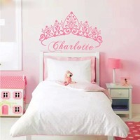 Eco-friendly Baby Girl Crown Wall Sticker