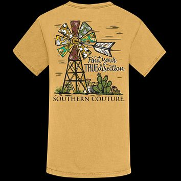 Southern Couture Find Your True Direction Comfort Colors T-Shirt