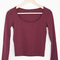 Ribbed Long Sleeve - (More Colors)