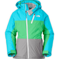 The North Face Girls' Jackets & Vests GIRLS' INSULATED KIZAMM JACKET