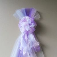 Kids Birthday Party Bow,Princess Party Bow,Girls Party Decor, Pink Purple White Bow,Sweet Sixteen Bow,Quinceanera Bow, Kids Party Decoration