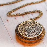 Antique Locket SALE Gold Necklace Pendant Locket Jewelry Pendant Necklace Necklace Edwardian Jewellery Mothers Day Gift Jewelry