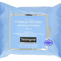 Neutrogena Make-up Remover Cleansing Towelettes Refill, 25 Count