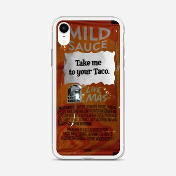 Taco Bell, Take Me To Your Taco iPhone XR Case