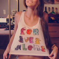 Forever Alone Kittens Crop Top | fresh-tops.com
