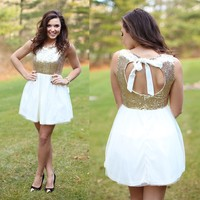 Golden Opportunity Dress