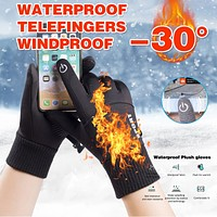 Unisex Touchscreen Winter Thermal Warm Cycling Bicycle Bike Ski Outdoor Camping Hiking Motorcycle Gloves Sports Full Finger 1214