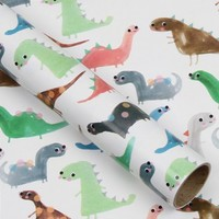 Dinky Dinosaurs - Kids' Wrapping Paper at Paperchase