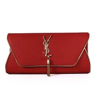 YSL Women Shopping Fashion Leather Chain Satchel Shoulder Bag Crossbody-14