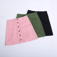 2016 Trending Fashion Summer Package Hip Solid Button _ 9656