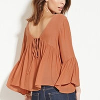 Contemporary Shirred Blouse