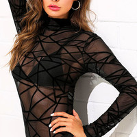 Cham Sheer Bodysuit