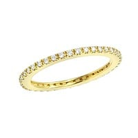 3mm Swarovski Crystal Band Ring 2 Colors Available