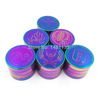 New pattern narguile herb grinder, unique colour the grinder weed, tobacco, which is convenient to use the grinder free shipping