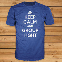 Archery Tshirt - Keep Calm and Group Tight