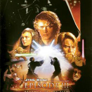 Star Wars 3 Movie Poster