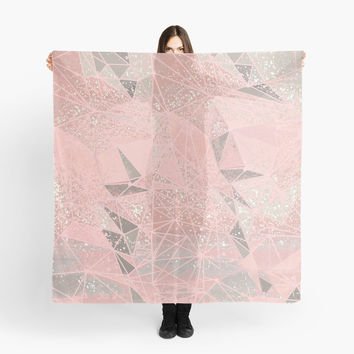 'rose space geometry' Scarf by Marianna Tankelevich