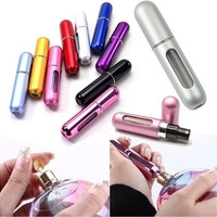 Fashion Protable 5ml Mini Empty Refillable Perfume Atomizer Bottle Travel Scent Pump Portable Spray Case = 1946565700