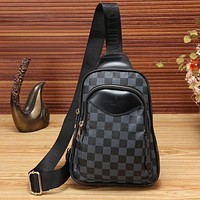 Louis Vuitton LV Classic Trending Women Men Stylish Leather Single-Shoulder Bag Purse Waist Bag Chest Bag I/A