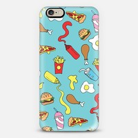 Fast Food iPhone 6 case by Emily Coxhead   Casetify