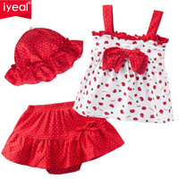 Cute top & tutu pants with hat