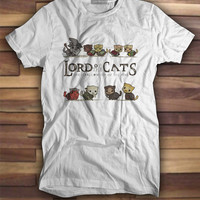 Lord Of the Cats T shirt, Printed Tshirts, Printed tees