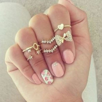Janette Ring Set