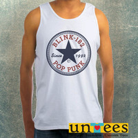 Blink 182 Pop Punk Since 1992 Clothing Tank Top For Mens