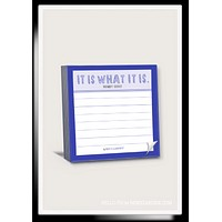 100-Page It Is What It Is Scribble-It Stickies Pad