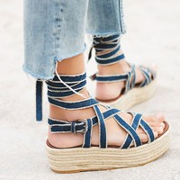 Free People Vegan Milly Platform Sandal
