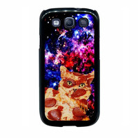 pizza cat nebula case for samsung galaxy s3 s4