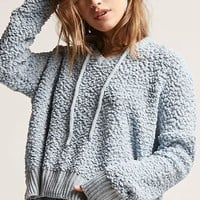 Boucle High-Low Sweater